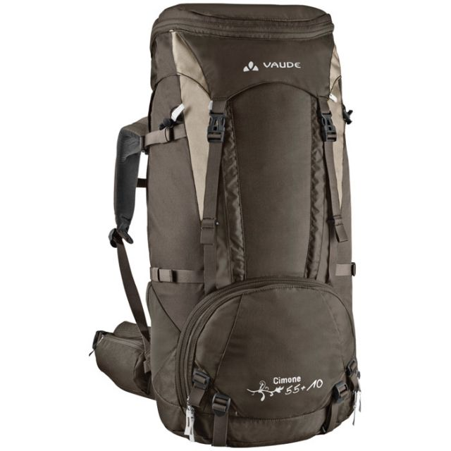 photo: VauDe Cimone 55+10 weekend pack (50-69l)