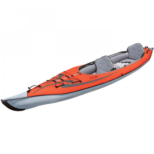photo: Advanced Elements AdvancedFrame Convertible Kayak inflatable kayak