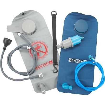 photo: Sawyer Complete Water Filtration System 2 Liter pump/gravity water filter