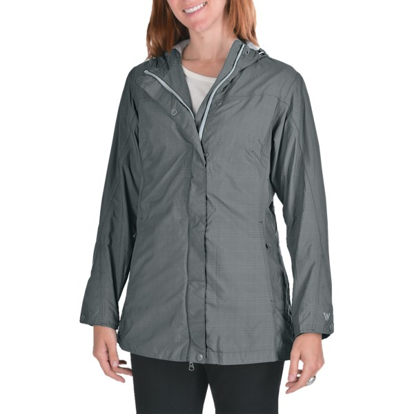 photo: White Sierra Long Junket Jacket waterproof jacket