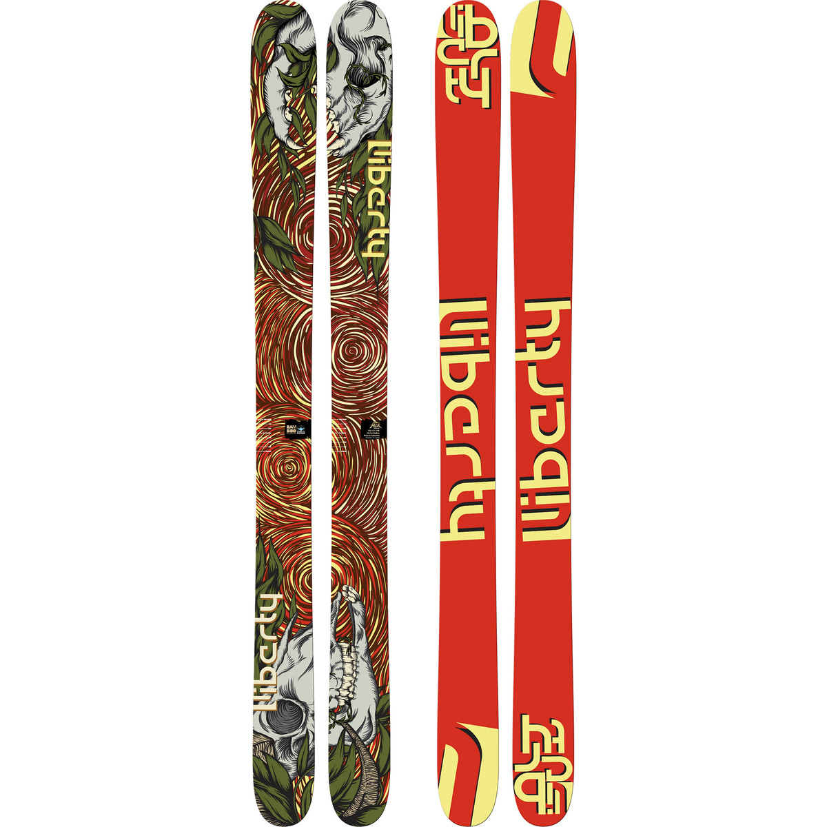 photo: Liberty Skis Double Helix alpine touring/telemark ski
