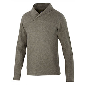 photo: Ibex Hunters Point Pullover fleece top