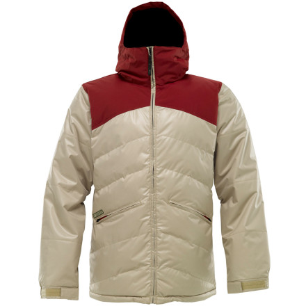 photo: Burton Puffaluffagus Jacket snowsport jacket
