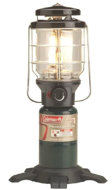photo: Coleman Northstar InstaStart Propane Lantern fuel-burning lantern