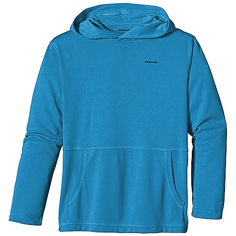 photo: Patagonia Kids' Sunshade Hoody long sleeve performance top