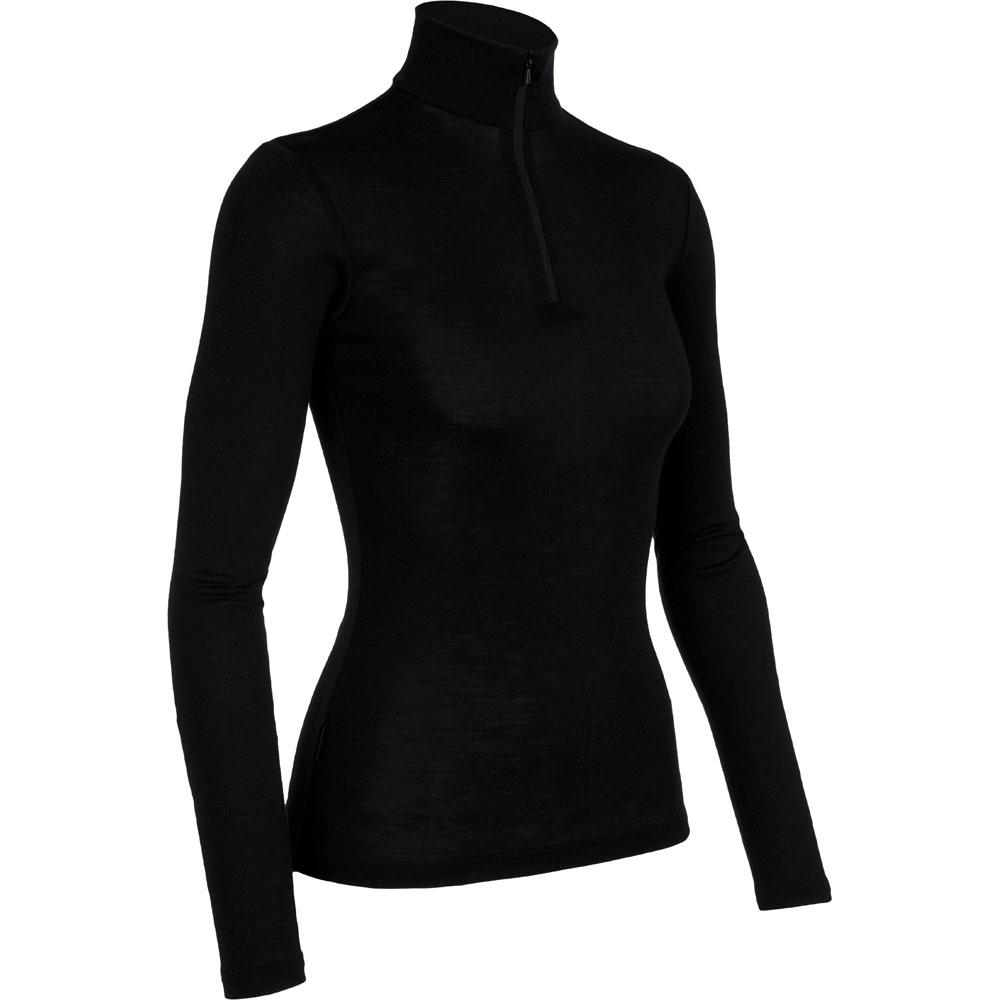 photo: Icebreaker Women's Everyday Long Sleeve Half Zip base layer top