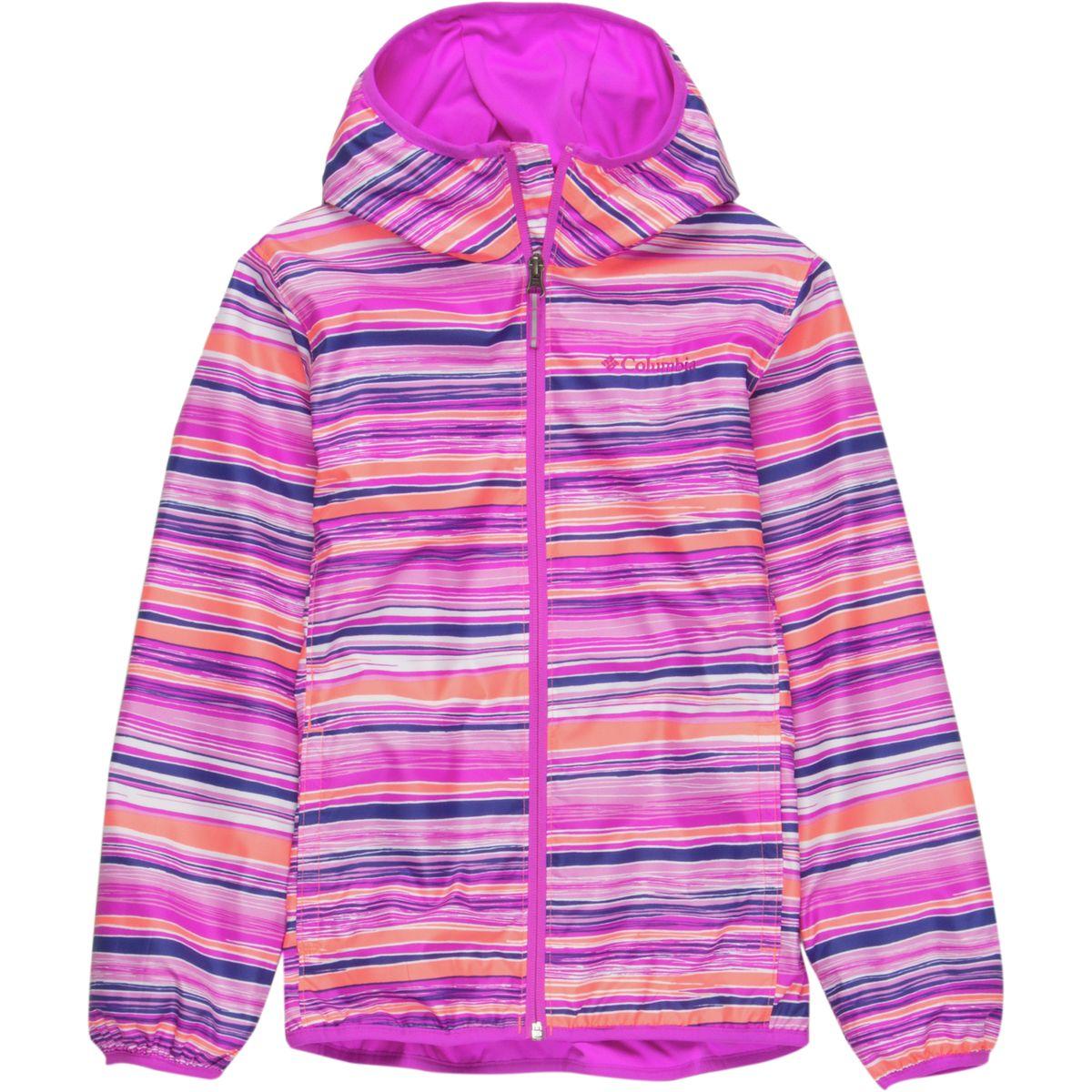 photo: Columbia Girls' Pixel Grabber II Wind Jacket wind shirt