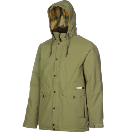 photo: Burton Wolf Jacket synthetic insulated jacket