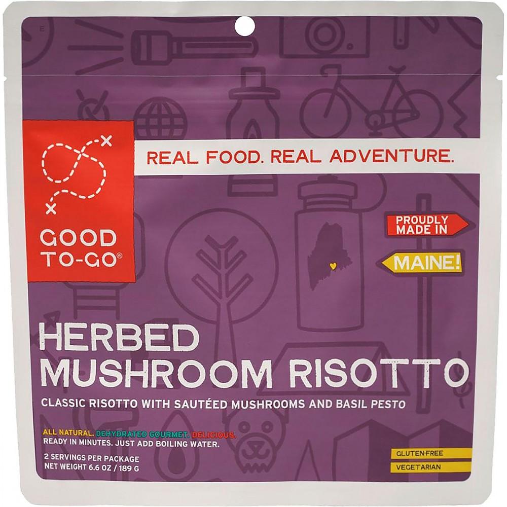 photo: Good To-Go Herbed Mushroom Risotto vegetarian entrée