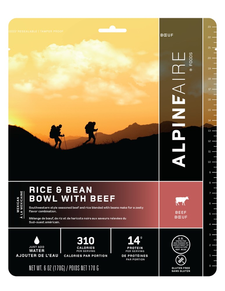 AlpineAire Foods Rice & Bean Bowl with Beef