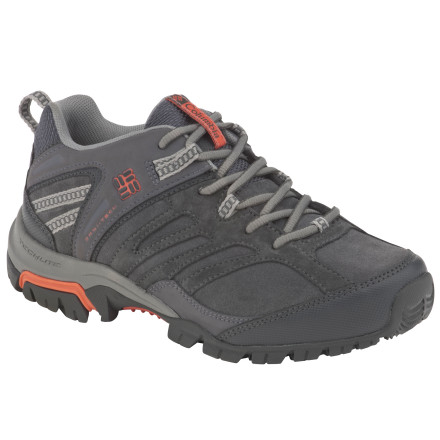 photo: Columbia Men's Shasta Ridge Low LTR Omni-Tech trail shoe