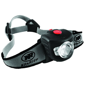 photo: NiteRider Adventure 180 headlamp