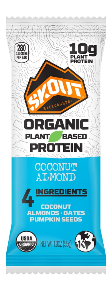 photo: Skout Organic Plant-Based Protein Bar nutrition bar