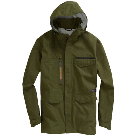 photo: Burton 2.5L Fix Jacket waterproof jacket
